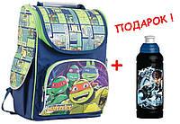 """Рюкзак школьный каркасный  Turtles 553308 H-11, ТМ """"1 Вересня"""""""