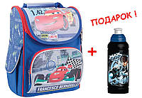 """Рюкзак школьный каркасный Cars ( Тачки ) 553306 H-11, ТМ """"1 Вересня"""""""