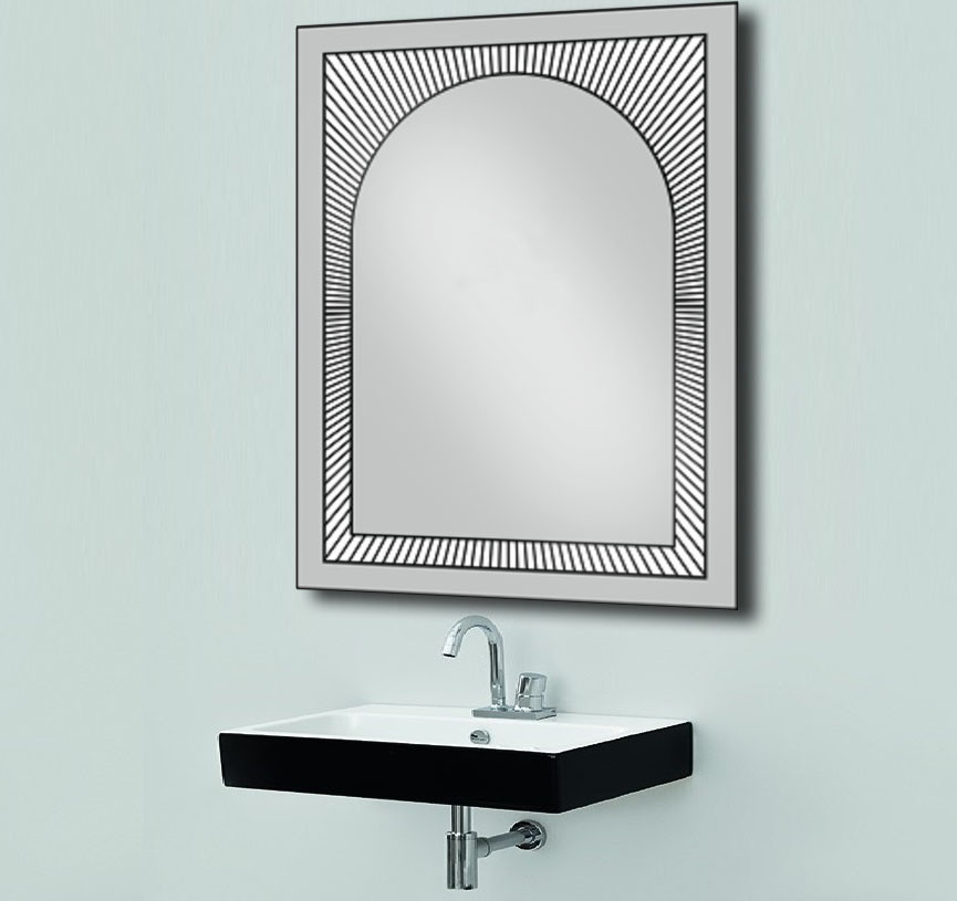 Зеркало со светодиодной подсветкой 600х800