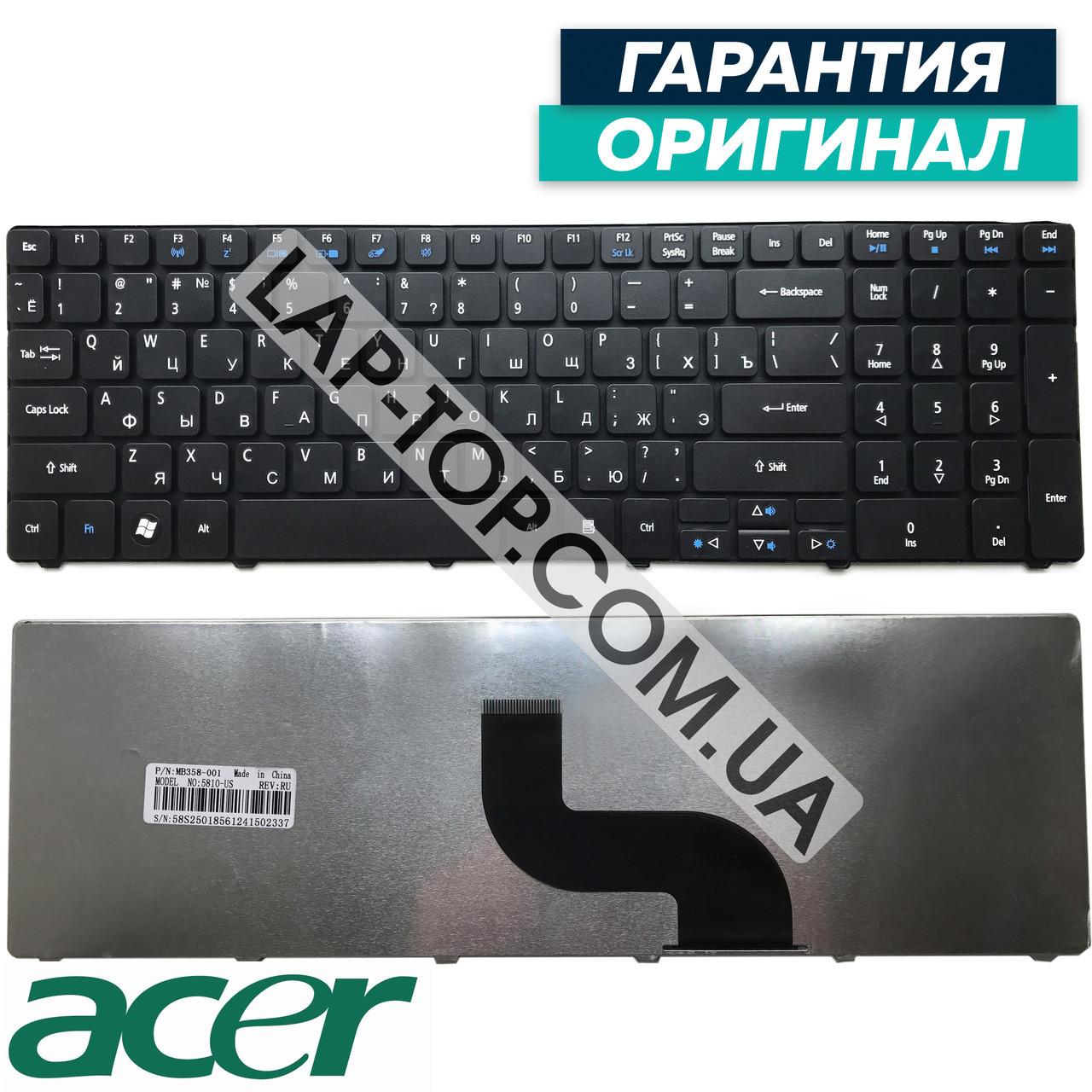 Клавиатура для ноутбука ACER AEZK6R00010