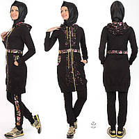 Турция Женский Мусульманский костюм Двойка в цветах прозводства Турция S-XL