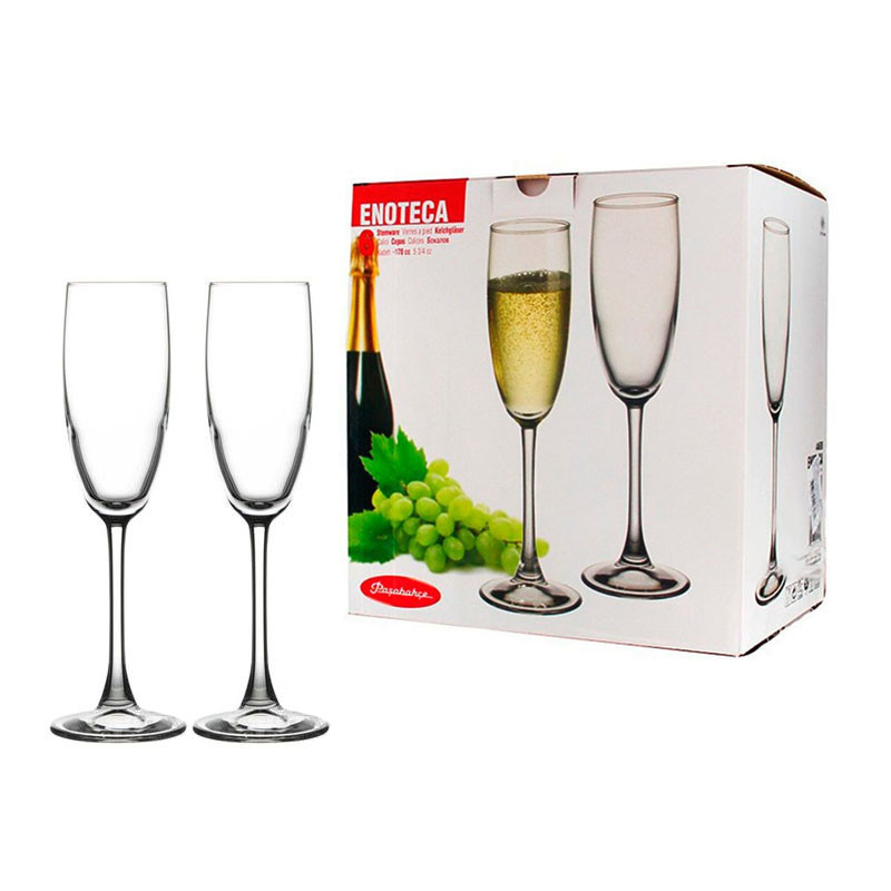 Набор бокалов для шампанского Pasabahce Enoteca 170мл 6шт.