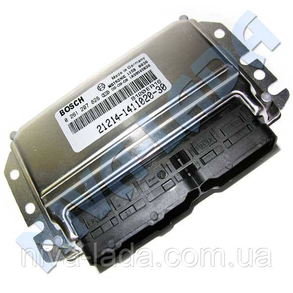 Блок управления двигателем контроллер 21214-1411020-30 BOSCH