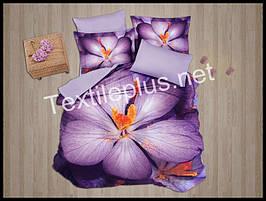 Комплект постельного белья First Choice 3D сатин Yolanda Турция (kod 3105)