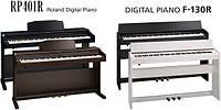 Roland анонсирует цифровые пиано RP-401R и F-130R