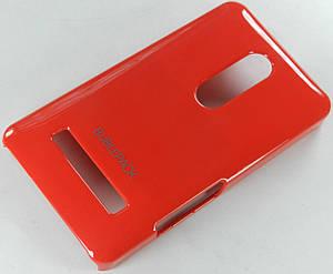 Чехол пластиковый на Nokia Asha 210 Bubble Pack Малиновый