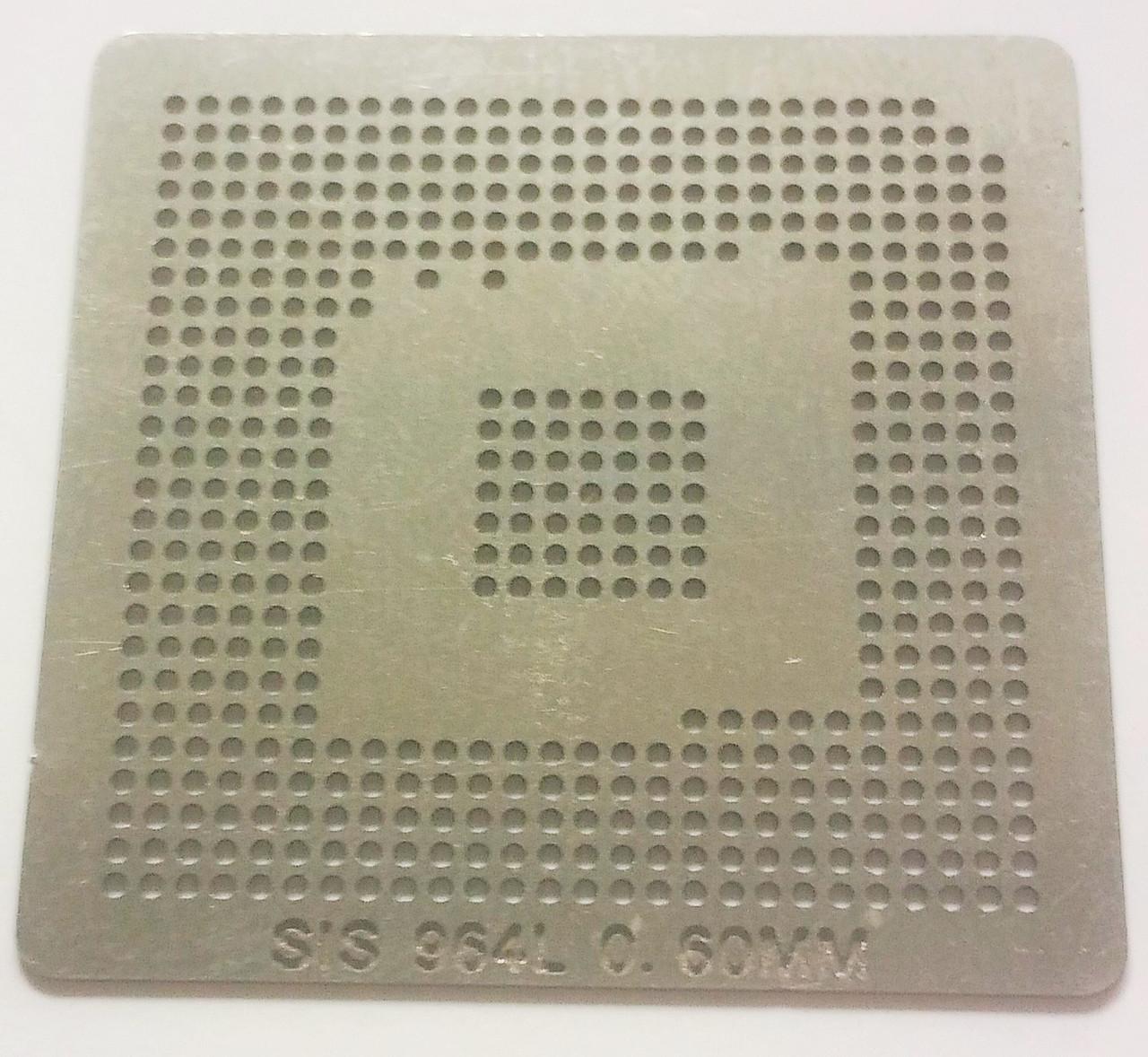 Трафарет BGA SIS964L, шар 0,6 мм