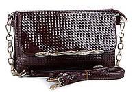 Женская сумка LL 884 brown. Женские маленькие сумки через плечо купить недорого Одесса