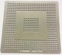 Трафарет BGA K6-C16, шар 0,6 мм
