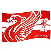 Клубный флаг Ливерпуль (Liverpool FC) Horizon (official product)
