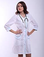Женский медицинский халат № 178, фото 1