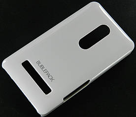 Чехол пластиковый на Nokia Asha 210 Bubble Pack Белый
