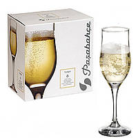 Набор бокалов шампанского Pasabahce Tulipe 190мл 6шт.