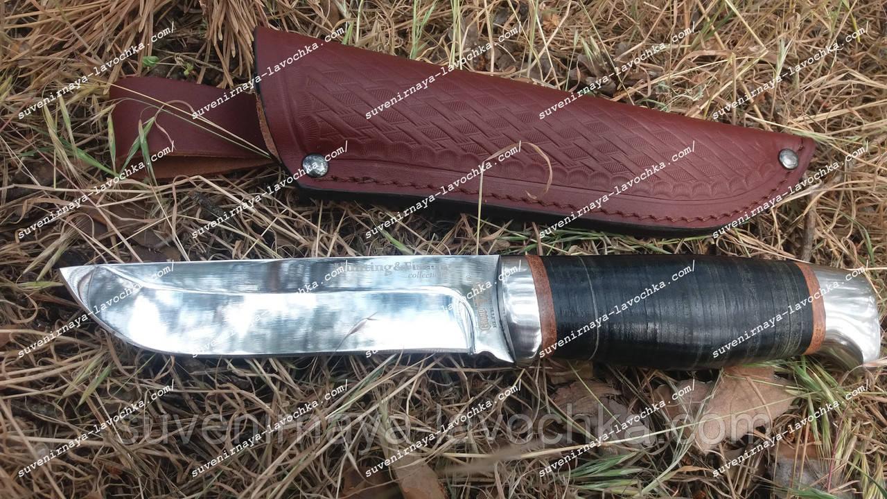 Нож охотничий 2288 LP Кожа