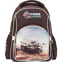 Рюкзак / Ранец / Портфель школьный Kite 513 Tanks Domination