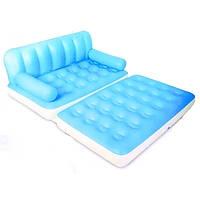 Надувной диван 5 в1 Bestway 75038 голубой+электронасос и сумка