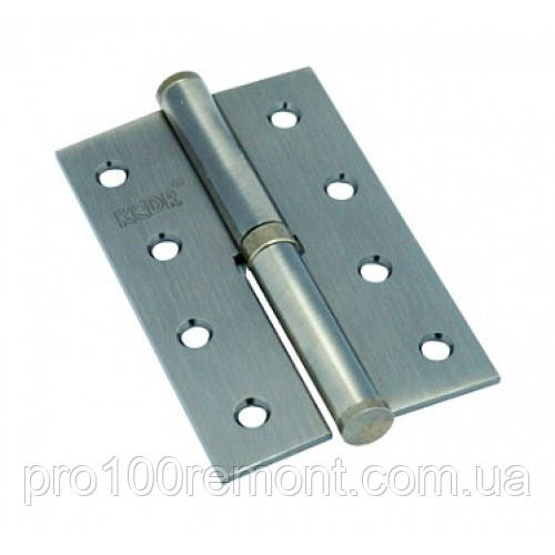 Петля для дверей КЕДР стальная левая 100*62-AB-L