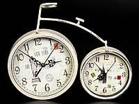 Часы старинные настольные Велосипед