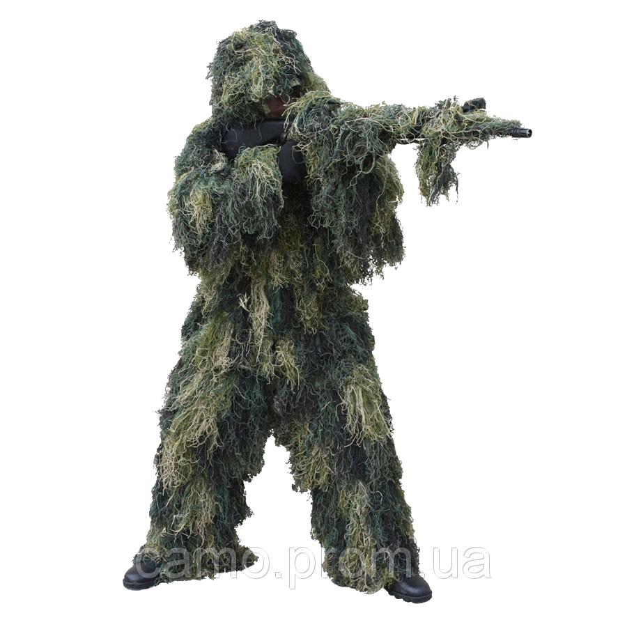 Маскировочный костюм-леший Ghillie Woodland
