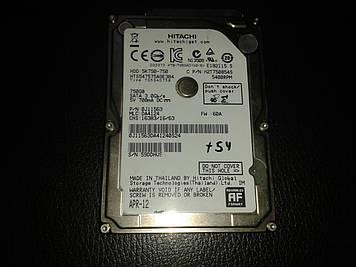 "Жесткий диск Hitachi 750Gb  SataII 2,5"""