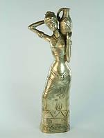 Статуэтка Девушка с кувшином бронза