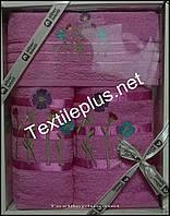 Набор махровых полотенец 3шт Турция