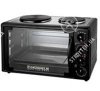Электрическая печь-плита с грилем Grunhelm GN33AH Купить Цена