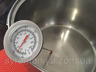 Термометр для молока с клипсой МAXI+(с длинным щупом!)