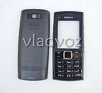 Корпус для Nokia X2 02 черный без клавиатуры не дорогой