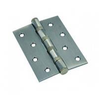Петля для дверей КЕДР стальная универсальная 100*75*2.5-B4-AB