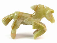 Статуэтка из оникса Лошадь
