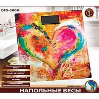 Ваги Defiant DFS-180H підлогові електронні 180 кг (heart)