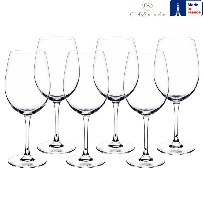 Набор бокалов для вина C&S Cabernet Tulip 580мл 6шт