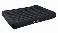 Двуспальный надувной матрас Intex 66770 (203 х 183 х 23 см)