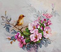 """Набор для вышивания крестом """"Luca-s"""" Птичка BА2314"""