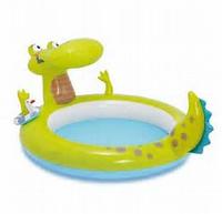 Бассейн детский надувной Intex 57431 Крокодил
