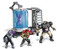 Конструктор Мега Блокс Черепашки-ниндзя Криокамера Крэнга. Mega Bloks Mutant Ninja Turtles Kraang Cryo Chamber
