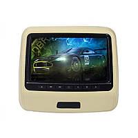 Комплект накладок на подголовник KLYDE Ultra 910D beige (Бежевый)