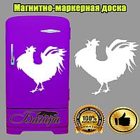 Магнитно-маркерная доска на холодильник Огненный петух 2017