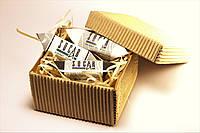 Крафт коробка с шоколадом