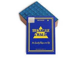Мел для бильярда Triangle синий. Распродажа! Оптом и в розницу!