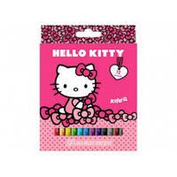 Фломастеры Kite 12 цв HK17-047 Hello Kitty