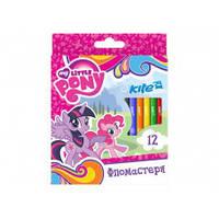 Фломастеры Kite 12 цв LP17-047 Little Pony