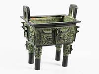 Статуэтка ваза китайская классическая бронза