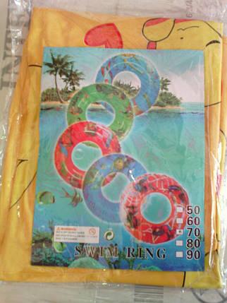 Надувной круг для купания 779-706 (6 видов) 60 см ОПТом, фото 2