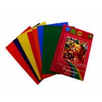 Набір кольорового картону Тетрада А4 7 листів 7 кольорів