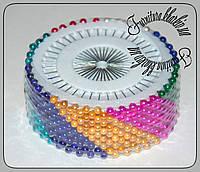 Булавка портновская с цветным шариком