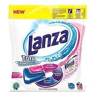 Капсулы для стирки с пятновыводителем Lanza+Vanish 28шт
