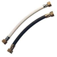 Шланг газовый черный или белый 0,5м-5м.