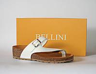 Женские шлепанцы Bellini оригинал Италия натуральная кожа 40